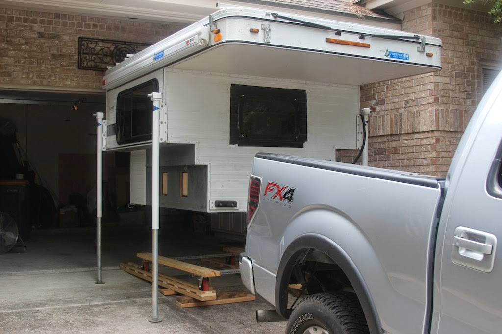 Ruffing It: Final Four Wheel Camper Modifications (Part One)