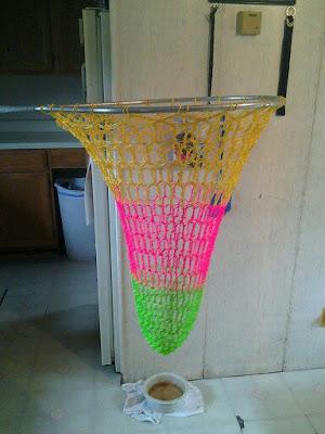 crochet, fishing net, gag project, Lost Crochet Files