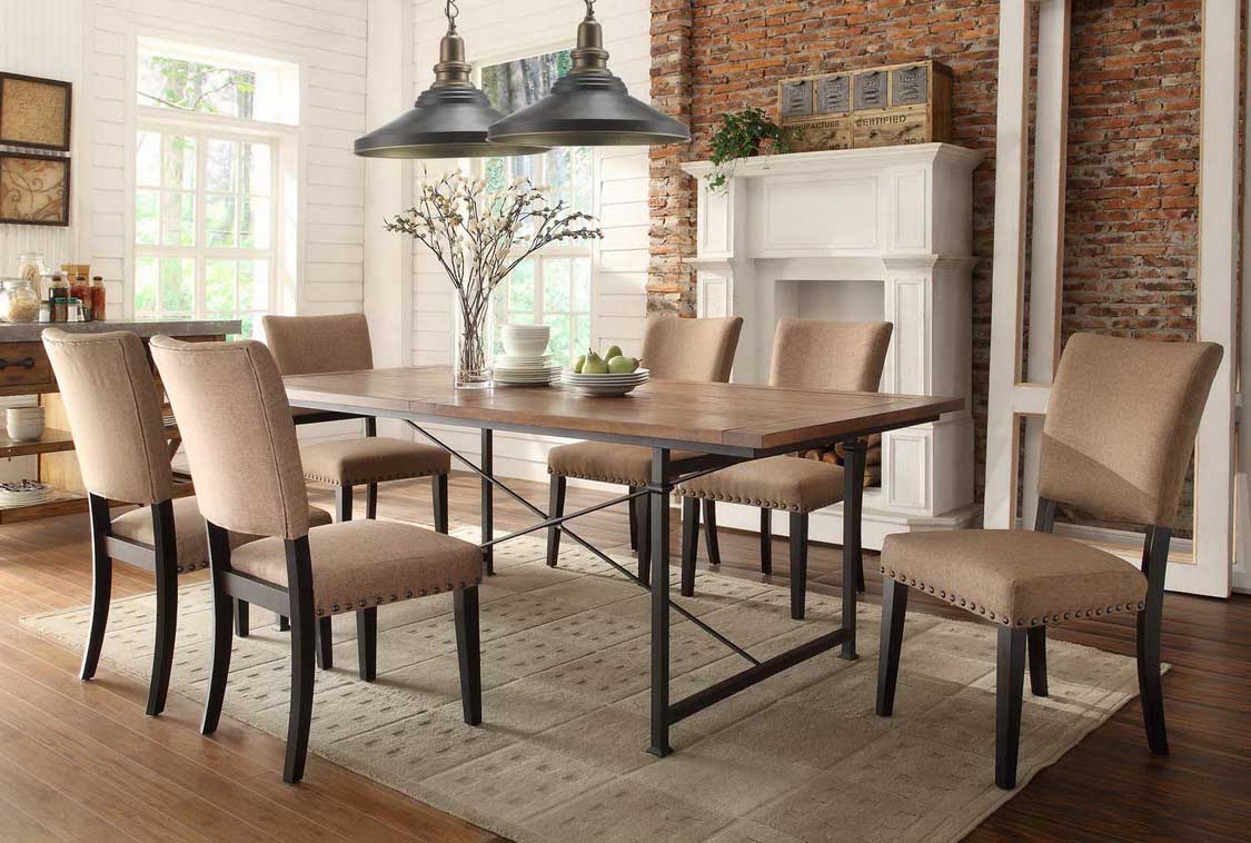 Rustic Dining Room Table Chairs