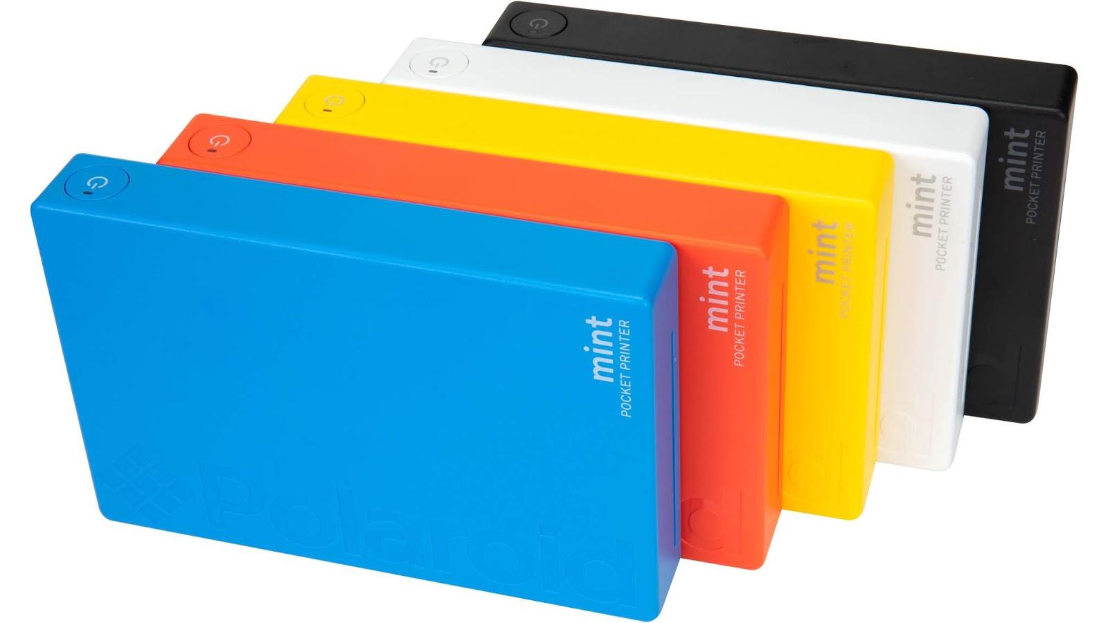 Пять цветов принтера Polaroid Mint