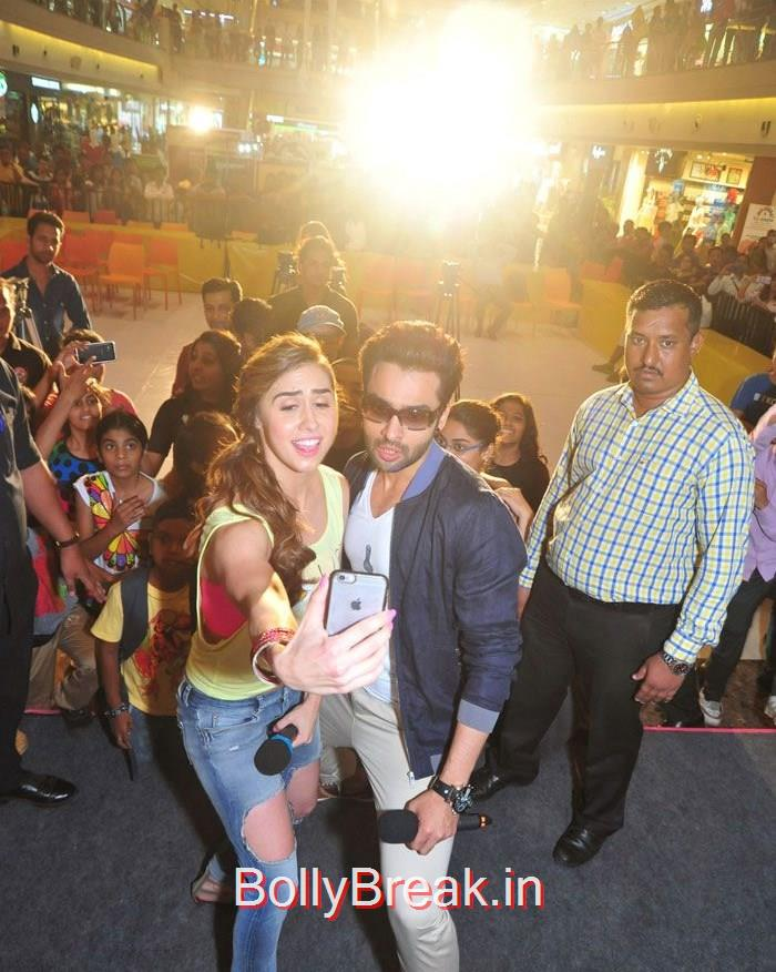 Lauren Gottlieb, Jackky Bhagnani, 'Welcome To Karachi' Promotion at Korum Mall