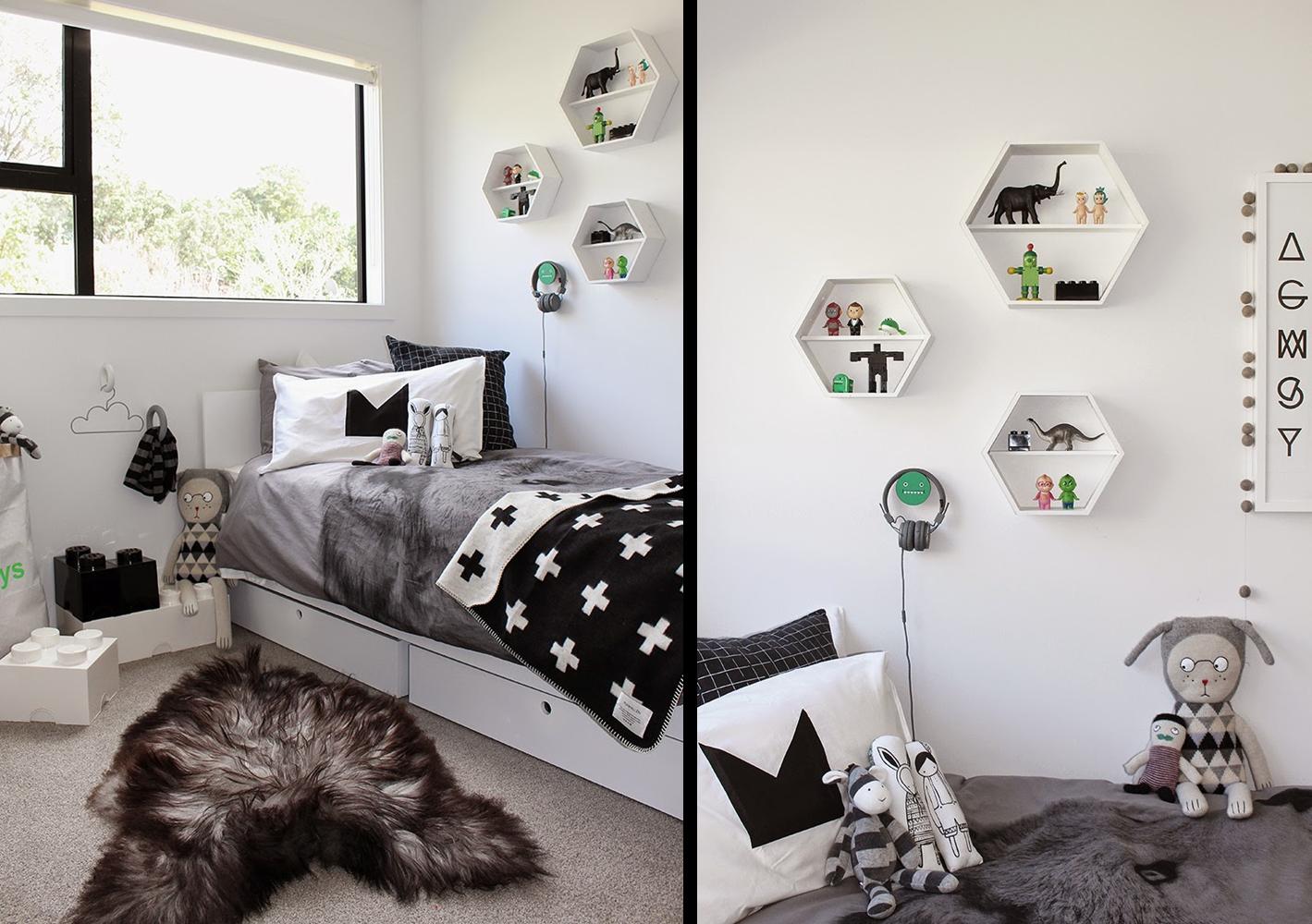 Decoraci n f cil un dormitorio infantil estilo nordico en - Dormitorio infantil blanco ...