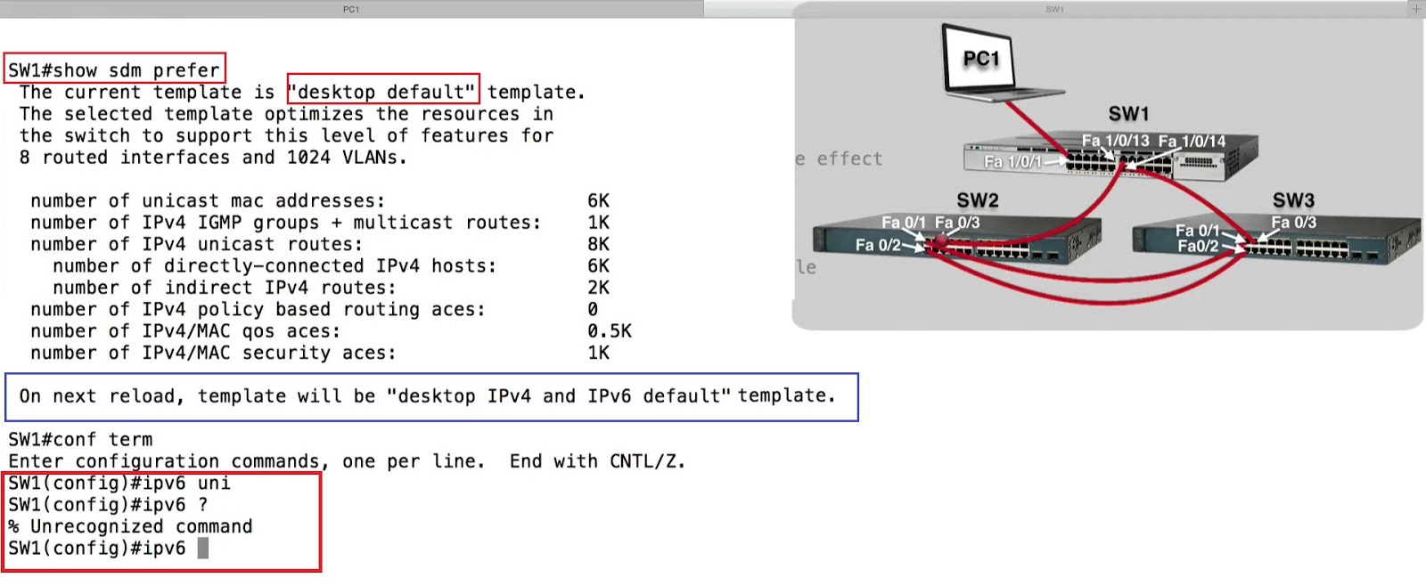 Investigating The Mac Address Table And Sdm Templates Best Cisco