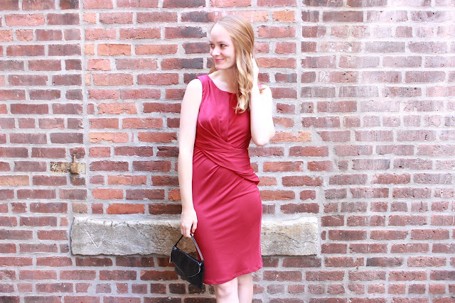 Shake the Tree Boston: Red Velvet Fall Dress