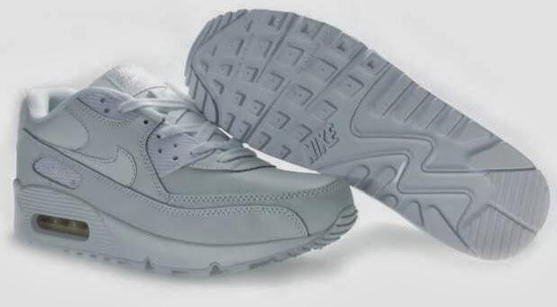 size 40 a60a5 d8d88 Dam Nike Air Max 90 Vita Fritidsskor
