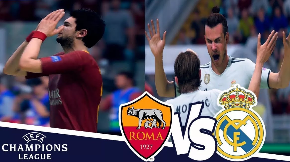 ROMA REAL MADRID Streaming Gratis: info YouTube Facebook, come vederla online col cellulare