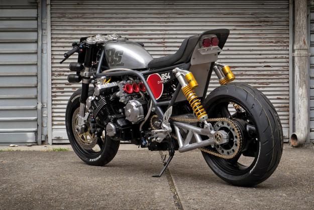 Modifikasi Honda CBX 6 Silinder By Bad Seeds MC
