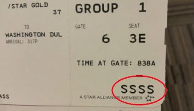 Ada Kode SSSS yang Misterius dalam Boarding Pass, Ini Artinya
