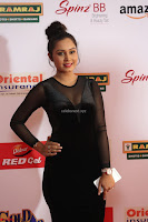 Vennela in Transparent Black Skin Tight Backless Stunning Dress at Mirchi Music Awards South 2017 ~  Exclusive Celebrities Galleries 041.JPG