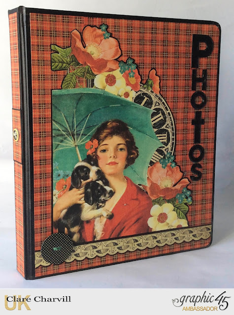 Raining Cats and Dogs Photo Folio Clare Charvill Graphic 45