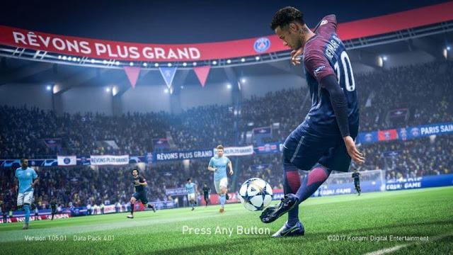 FIFA 19 Neymar Start Screen PES 2018