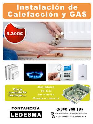 instalacion de calefaccion y gas en san sebastian donostia al mejor precio