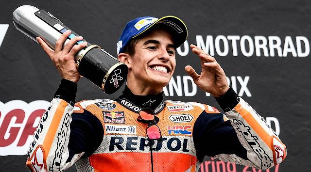 Marquez Berada Dipuncak Klasemen MotoGP 2017