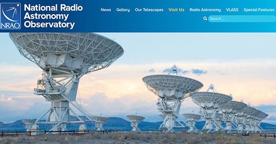 Are you ready for a tour of The Very Large Array? (Source: NRAO)