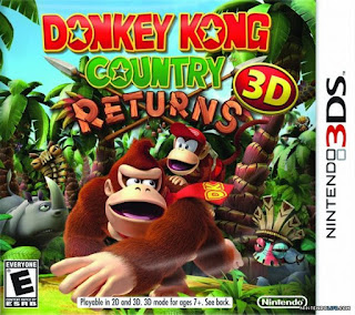 Donkey Kong Country Returns 3D, 3ds, Español, mega
