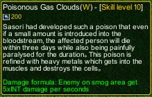 naruto castle defense 6.0 Sasori poisonous gas clouds detail