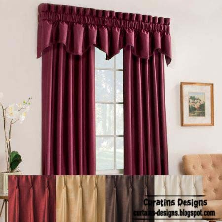 Pink Ring Top Curtains