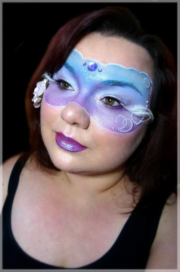 kreatives makeup facepainting Maske