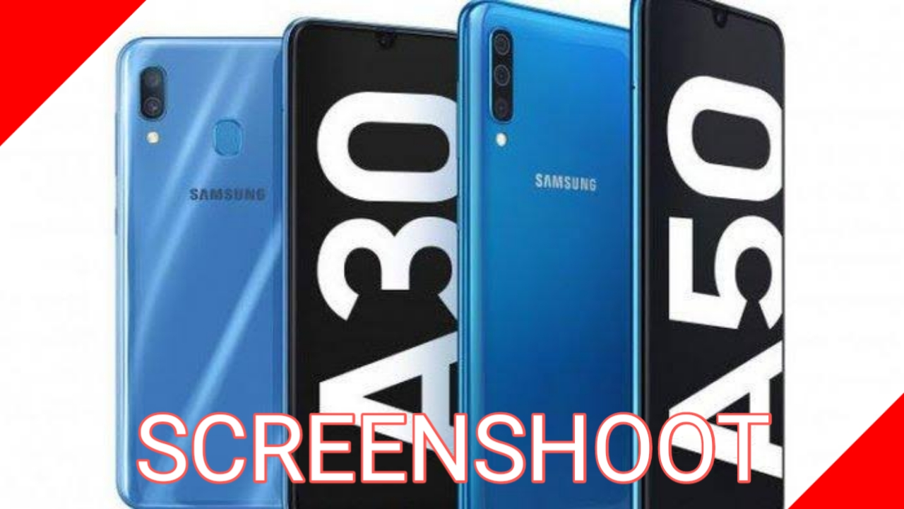 Cara Screenshoot Samsung Galaxy A30