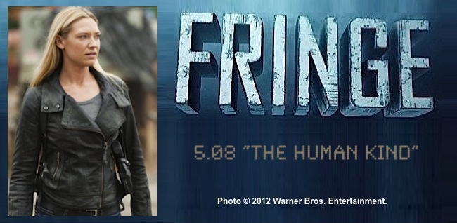 Fringe 5.08 The Human Kind / Photo of Anna Torv as Olivia