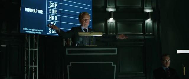 Gunnar Eversol (Toby Jones) dans Jurassic World 2 : Fallen Kingdom
