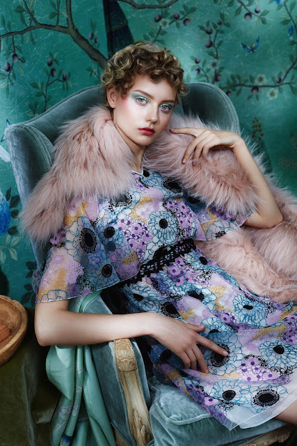 nastya kusakina by lena manakai for elle kazakhstan december 2015 on cool chic style fashion