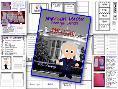 Jimmy Carter Lapbook