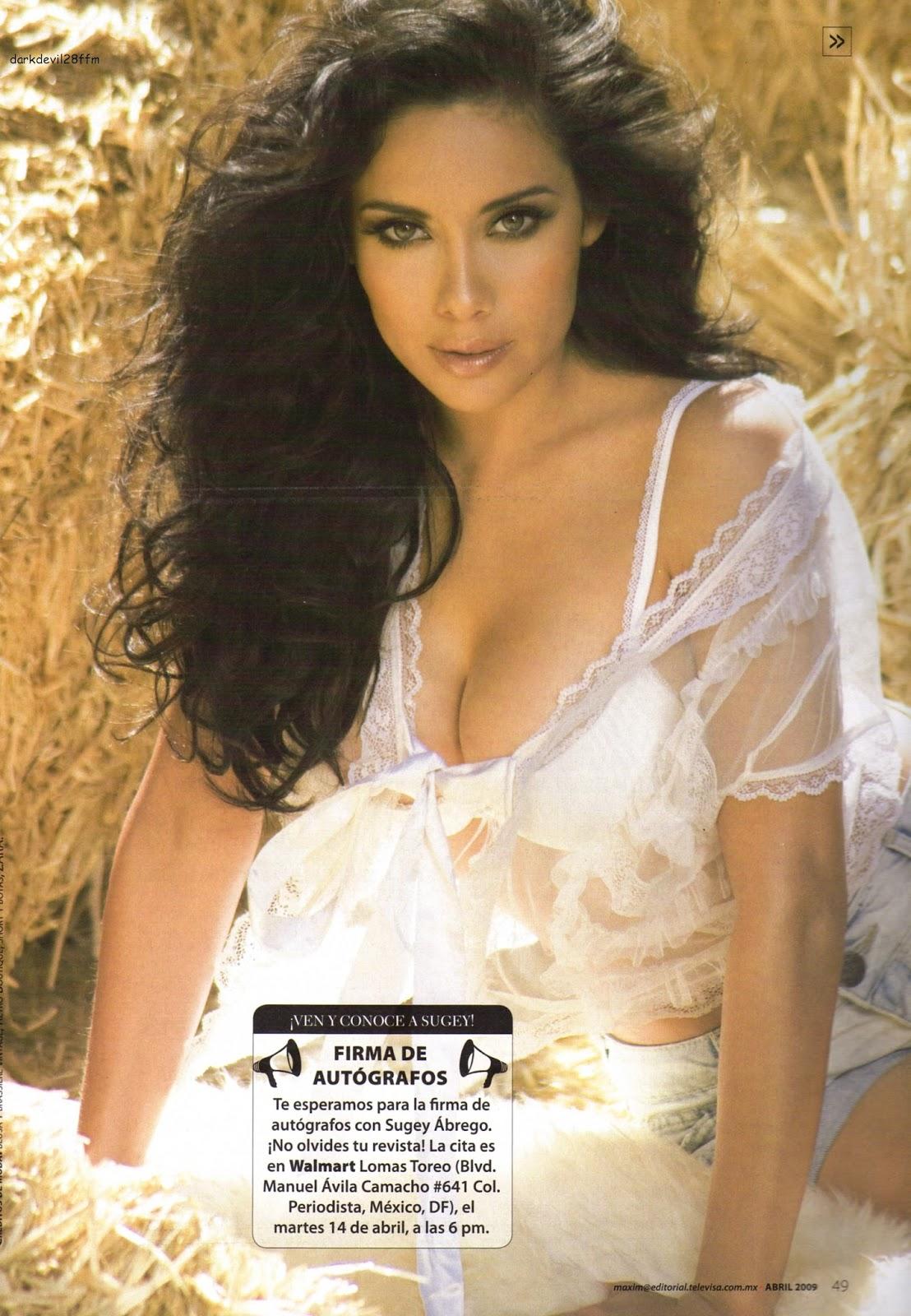 Las magníficas imágenes de bellas musas: Sugey Abrego
