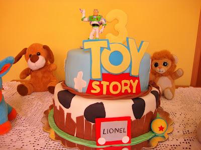 Tarta Toy Story de fondant