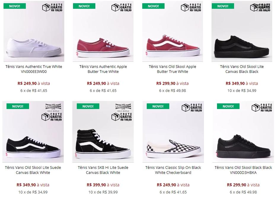 fc14f8845d A loja não vende apenas tênis, eles têm diversos produtos, diversas marcas,  com certeza você irá achar produtos que você deseja por lá!