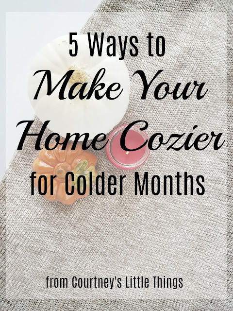 5 ways to make your home cozier for fall and winter
