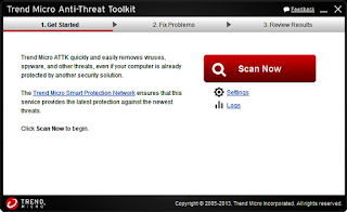 برنامج مكافحة الفيروسات Anti-Threat Toolkit