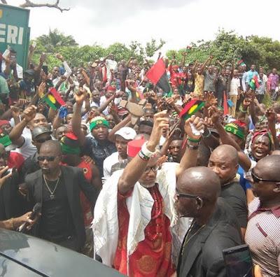 Nnamdi Kanu  - Biafra