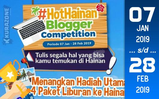 Kompetisi Blog - H.I.S Travel Indonesia #HOTHAINAN Berhadiah Paket Wisata, Travel Kit dan Voucher Wifi (28 Februari 2019)