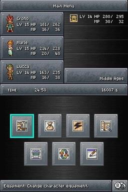 NDS 超時空之鑰Chrono trigger 2
