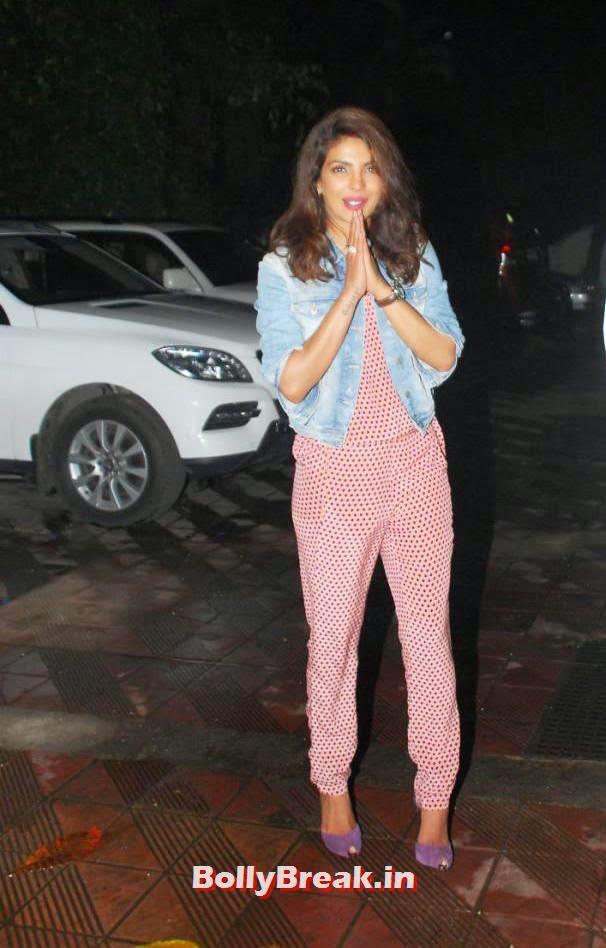 , Priyanka Chopra Birthday Party Pics 2014