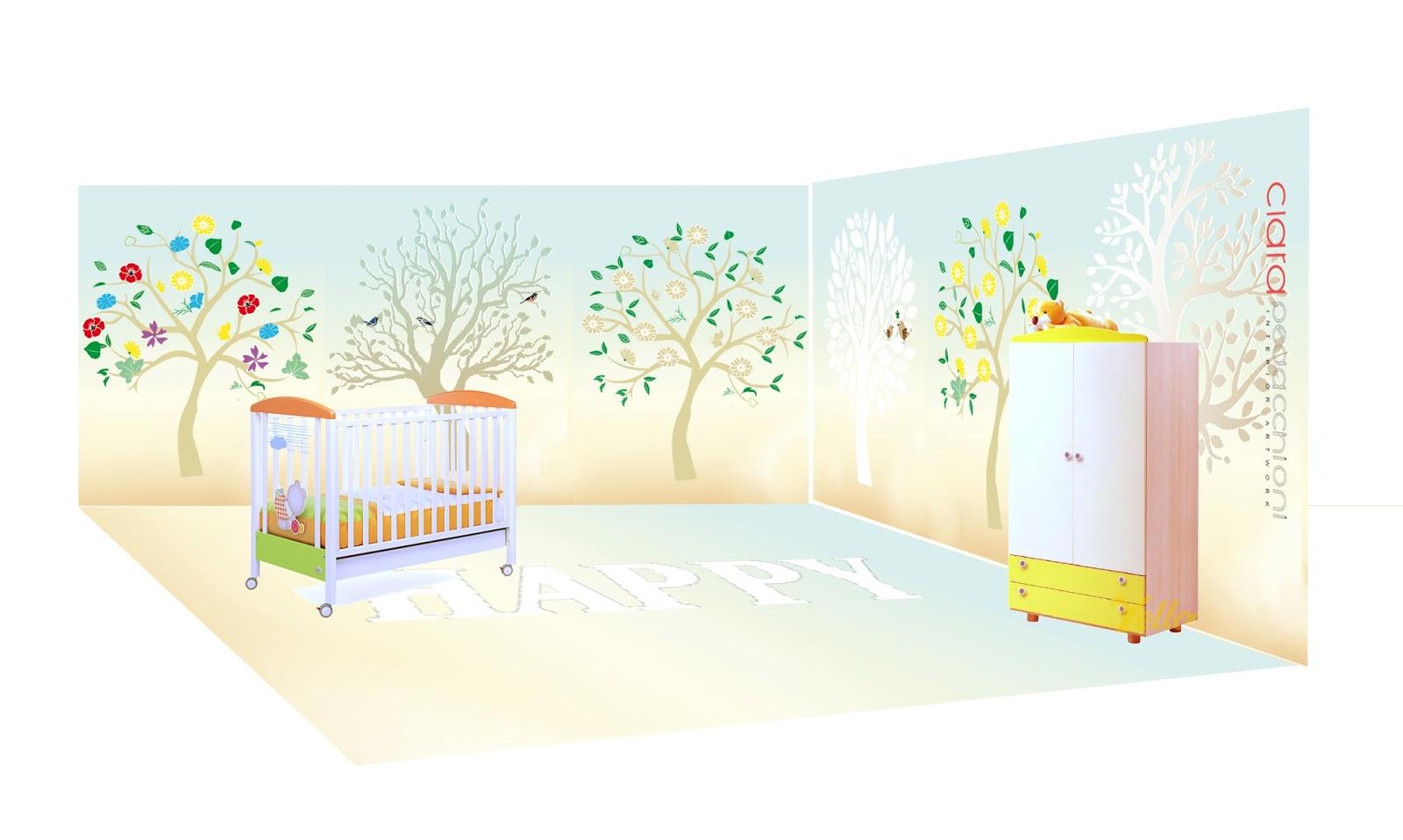 Decorazioni muri camerette bambini camerette bambini - Decorazioni muri camerette bambini ...