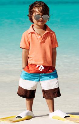 moda baño niños verano 2011 H&M