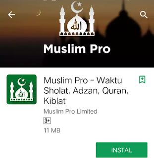 Aplikasi adzan muslim pro
