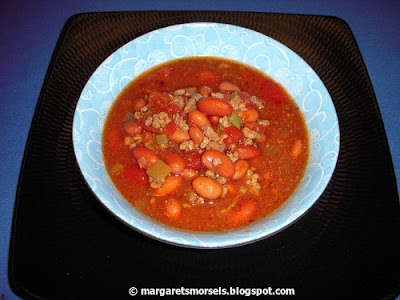 Margaret's Morsels | Crock-Pot Chili