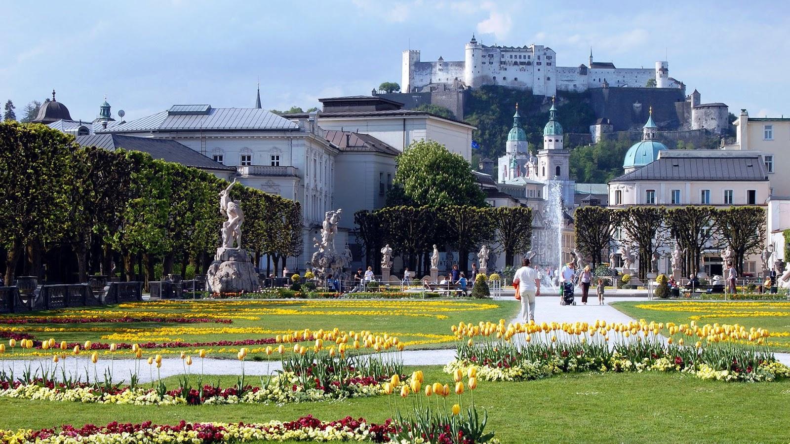 Parken In Salzburg Zentrum