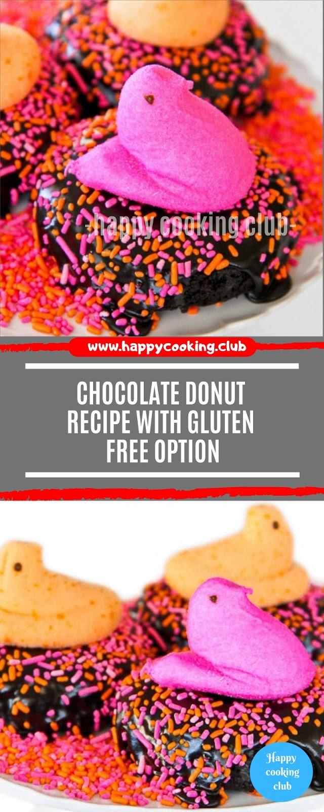 Chocolate Donut Recipe With Gluten Free Option