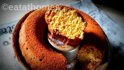 whole Wheat Jaggery Tea time Cake Recipe