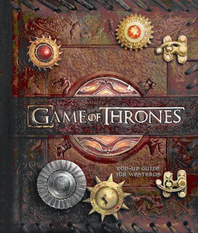 Game of Thrones Pop-Up-Guide für Westeros