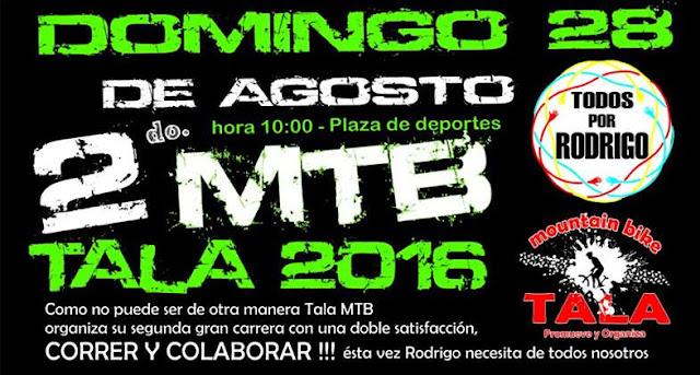 MTB en Tala (Canelones, 28/ago/2016)