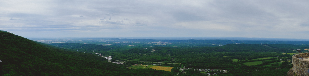 lookout mountain panoramic view