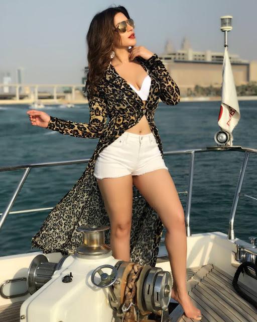 Shama Sikander Hot Bikini Pics From Instagram