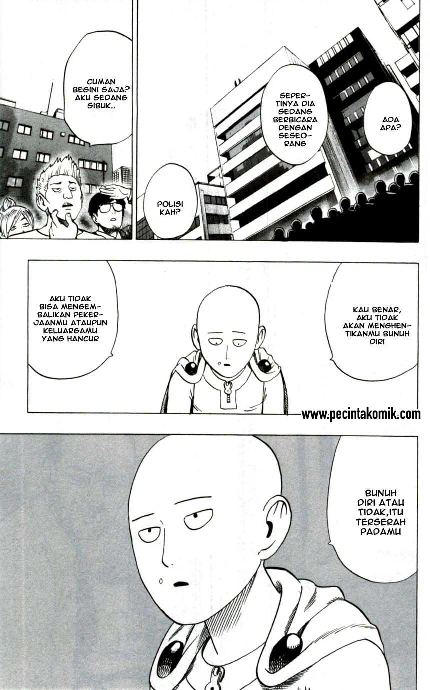 Komik One Punch Man Chapter 50 Extra Bahasa Indonesia
