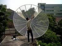 Setting Parabola Duren Sawit,Jakarta Timur