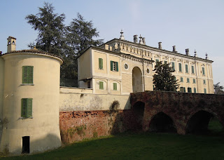 The 18th century Palazzo Gambara in Pralboino